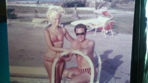 Angela Paul honeymoon tunisia 1966
